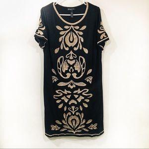 INC shirt dress Embroidered
